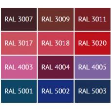 Таблица цветов RAL с русскими названиями