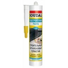 Герметик SOUDAL бутиленовый белый 300мл 105875