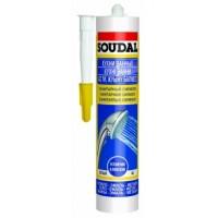Герметик SOUDAL санитарный бесцветный 300мл 105897