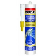 Герметик SOUDAL санитарный белый 300мл 105896