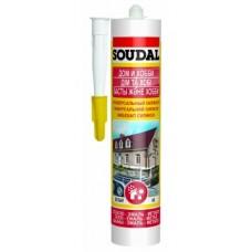 Герметик SOUDAL универсальный белый 300мл 105907