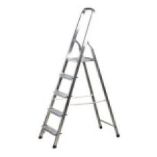 Лестница-стремянка алюминиевая, 5 ступеней, 103см 38801-5