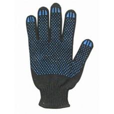 Перчатки черные 4 нитка 10 кл. ПВХ Стандарт