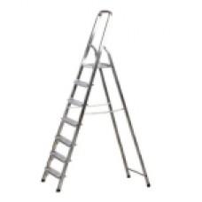 Лестница-стремянка алюминевая, 7 ступеней, 145см 38801-7