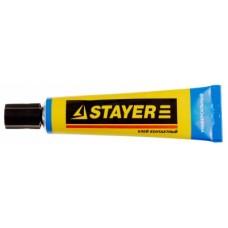 Клей Stayer контактный универсальный, в тубе, 50 мл 41976