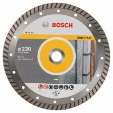Алмазный круг BOSCH UPE-T 230 универсальный турбо 2608602397