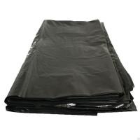 Мешки для мусора ПВД 700х1100х0,030 (120 л.) 50шт/уп цвет черный