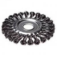 Щетка-крацовка 125х22,2мм, дисковая, стальная проволока HOBBI 45-2-712