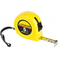 Рулетка STAYER Master MaxTape, 5м/19мм,пластиковый корпус 34014-05-19
