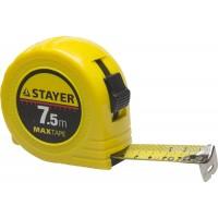Рулетка STAYER Master MaxTape, 7м/25мм,пластиковый корпус 34014-07-25