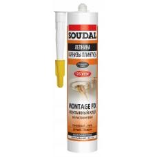 Жидкие гвозди Soudal Montage Fix 300мл 120066