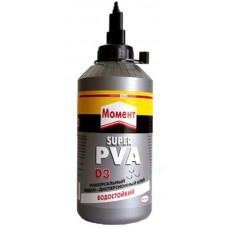 Клей Момент-Супер ПВА D3 750г. флакон