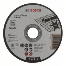 Отрезной круг 125х1 по нержавеющей стали BOSCH 2608600549