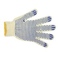 Перчатки белые 4 нитка 10 кл. ПВХ Стандарт